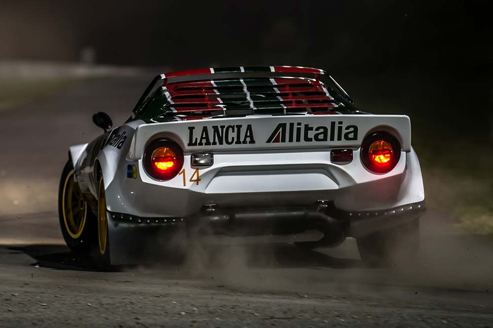 STR - Lancia Stratos Replica - Back