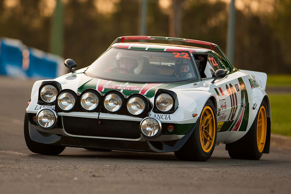 STR - Lancia Stratos Replica - Front